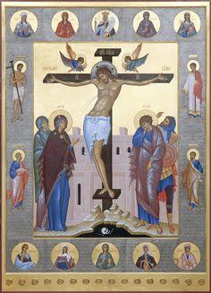 Byzantine Art, Holy Cross, Goddess Lakshmi, Orthodox Icons, Ikon, Heaven, Pictures, Painting, Beautiful