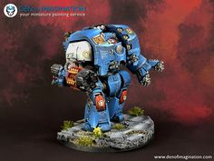 Leviathan Dreadnought - Imgur Imperial Knight, Warhammer 40k Miniatures, Warhammer 40000, Space Marine, Marines, Emperor, Knights, Painting, Gaming