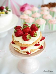 Summer Cake at the Party
