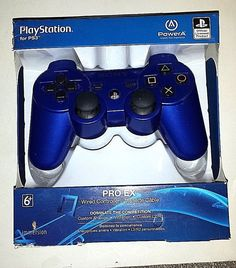 PS3 PRO EX WIRED CONTROLLER  NEEDS WORK #Sony