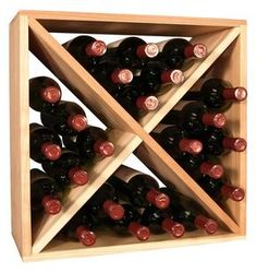 24 Bottle Wine Storage Cube | Living Series™ Wine Rack