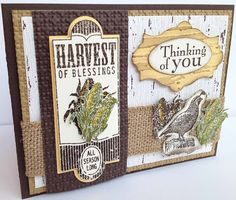 Amy L. Lazzell at Just A Thought...Cards by Amy Pals Blog Hop Fall Stampin Up