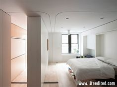 See Full Set of Official LifeEdited Apartment Photos - Fully customizable micro apartment.  Great storage ideas here