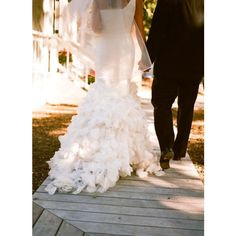 Napa Valley Wedding by Sylvie Gil Photography | Style Me Pretty : The... ❤ liked on Polyvore featuring wedding, couple, backgrounds and love