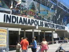 Totally want to go to the Indy 500!