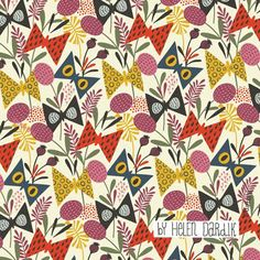 Helen Dardik. I actually think she is the Queen of patterns!