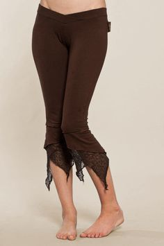 Pointy Pixie leggings - Perfect Yoga Pants - Fairy Tights Made from gorgeous cotton jersey these are by far our best selling pixie leggings for years., these leggings will keep their shape for wash after wash. Perfect for Yoga , everyday use , pixie parties and much more... They have Hip hugging waistband with V shape elastic for the ultimate flattering shape . They reach just below the knee with delicate, knit patches hanging down into pixie points. They come also with a higher waistband…