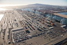 2 | Amazing Aerial Photos Show The Enormous Cargo #Traffic Jam At The Nation's Biggest Port | Co.Exist | ideas + impact // #logistics