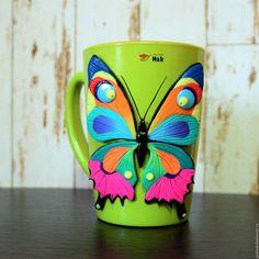 Купить Яркая Бабочка! - комбинированный, лето, зеленый, бабочка, яркая, девушка, морская волна, розовый