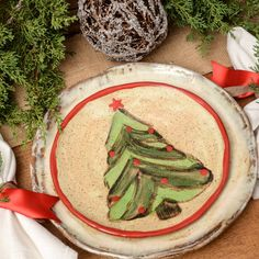 Etta B's adorable Christmas salad plates add an instant touch of festive to your table this holiday season! Mix and match the Christmas trees and pretty plaid for a cozy and eclectic feel! We love this cutie mixed with Etta B's classic dinnerware, as well as with Casafina's Bistro stoneware.