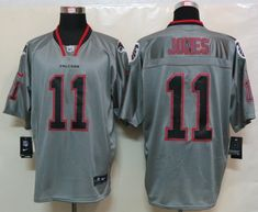 New Nike Atlanta Falcons 11 Jones Lights Out Grey Elite Jerseycheap nfl  jerseys 32a4d6f32