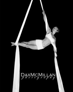 Stanzie Langtree on aerial silks. Dax McMillan Photography. Another one from my recent photoshoot. :)