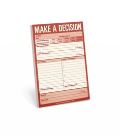 """Cool tool for helping make a choice for $7  great article too. Charlotte York said it best: """"I choose my choice!"""""""