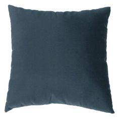 2d2e94443b3 Cushion Source 17 x 17 in. Solid Sunbrella Indoor   Outdoor Throw Pillow