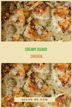 Creamy Asiago Chicken