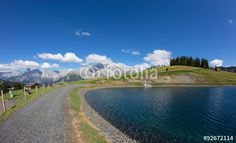 #Water #Reservoir #Lake At #BürglAlm In #Dienten Am #Hochkönig @fotolia #fotolia #salzburg #austria #travel #hiking #holidays #summer #season #fall #vacation #bluesky #hking #mountains #outdoor #panorama #nature #landscape #stock #photo #portfolio #download #hires #royaltyfree
