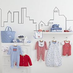 John Lewis Dog in the City Babywear & Nursery Collection #JLDreamNursery