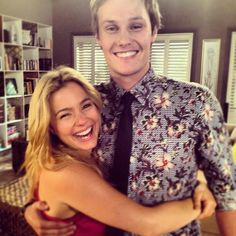 Neighbours Andrew and Tash Tv Couples, Home And Away, Tv Series, Fangirl, Men Casual, Soaps, People, Classic, Hand Soaps