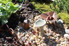 miniture gardens | Plant a Fairy Garden