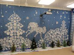 dekoracja zimowa
