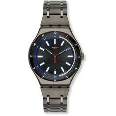 Swatch Men's YWM400G 'Irony Smokeygator' Grey Watch