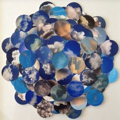 Cloud Cluster Collage of Photographs  -  Cheryl Sorg
