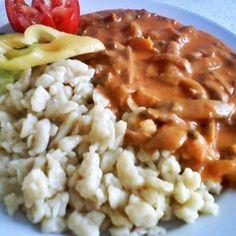 Egy finom Laskagomba paprikás ebédre vagy vacsorára? Laskagomba paprikás Receptek a Mindmegette.hu Recept gyűjteményében! Risotto, Macaroni And Cheese, Ethnic Recipes, Food, Red Peppers, Mac And Cheese, Essen, Meals, Yemek