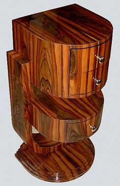 Art Deco nightstand, ca. 1930.