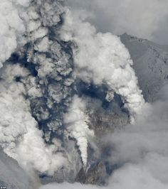 Scientists said there has not been any lava seen yet during this most recent event althoug...