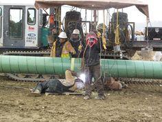 Site pipeline welding