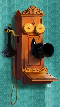 Telephone on Behance