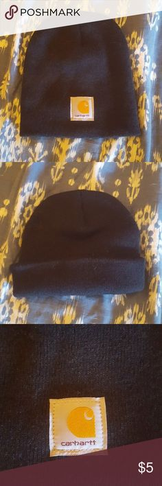 Classic Carhartt Beanie Cap Hat Black classic Carhartt beanie cap. Never worn. Put it on my head one time. Got it for work, and I just have too much damn hair! So, it's basically new. If you have any questions, please ask! Thanks! Carhartt Accessories Hats