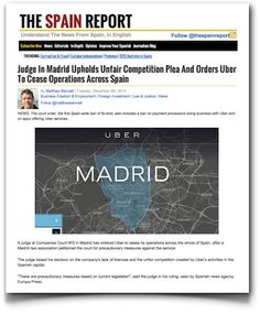 Uber, la información y la desinformación