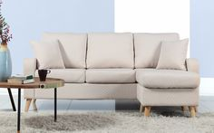 Pride Modern Small Fabric Sectional