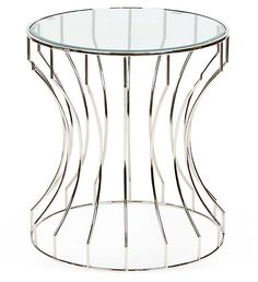One Kings Lane - Labor Day Blowout Sale - Tyson Glass Accent Table