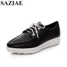 2016 Fashion Brand Shoes Lace-up Flat with Women Breathable Balance Shoes Woman Height Increasing High Quality Leisure Shoes Casual Shoes, Women's Casual, Shoe Brands, Fashion Brand, Buy Now, Derby, Sport, Oxford Shoes, Dress Shoes