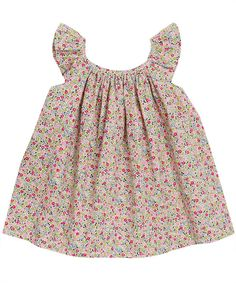 perfect combination of liberty fabric and smock top