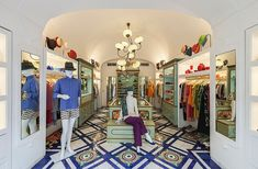 Emporio Sirenuse is arguable the only must-visit shop on the Amalfi Coast. Photo courtesy of Emporio Sirenuse.