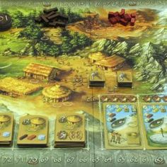 Stone Age Board Game- an explanation of how to play Stone Age, a strategy game based on the lives of primitive stone age people