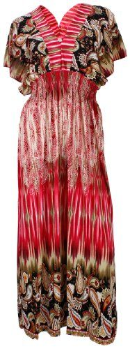 NY Deal Women's Plus Size Casual Maxi Dress $17.75 (save $30.25)  #NYDeal
