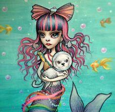 Mermaid Love by Mab Graves