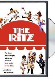 "The Ritz (1976) On his deathbed Carmine Vespucci's father tells him to ""get Proclo"". With 'the hit' on, Gaetano hides out at the Ritz, a gay bath house.  Jack Weston, Rita Moreno, Jerry Stiller, Kaye Ballard.  A wild romp."