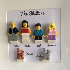 The LEGO Family Frame, one of our new additions to our shop! Encapsulating your family in LEGO makes for a perfect gift thisChristmas for someone in your family ☃️