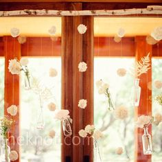 Hanging Flower Altar