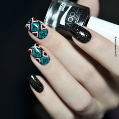 Depend Cosmetic 'Bedtime Stories' and Lesly Plates #33 #nails #nailart