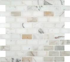Image result for calcutta gold marble basketweave tile bathroom