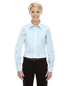 201f6c48b50 Devon and Jones Ladies Crown Collection™ Tattersal Shirt.