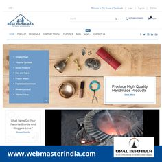 Opal Infotech has launched a Ecommerce website www.besthimalaya.com in Shopify Platform for Best Himalaya, which is Nepal based Company selling a wide range of Handmade Signing Bowl, Prayer Wheel, Tingsha Cymbals, etc. online with best price. Find more Ecommerce websites, visit at http://www.webmasterindia.com/portfolio/ or more details mail us on biz@webmasterindia.com. #OpalInfotech #ShopifyWebsite #ResponsiveWebsites #ResponsiveEcommerceWebsite #WebDevelopment #EcommerceWebsites…