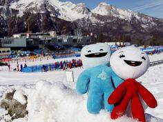 Turin 2006 Mascots   Olympic Photo