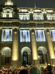 Palacio de Justicia de Buenos Aires.